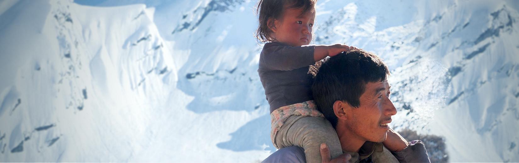 NOUS AVONS<br />BESOIN DE VOUS<br /><span>BIKRAM Solidarité Népal</span>